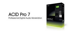 Программа создания минусов Sony ACID 7 Pro